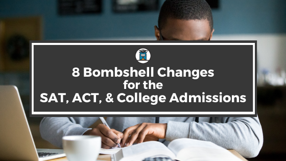 SAT ACT College Admissions
