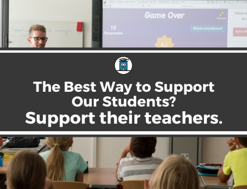 The Best Way To Support Our Students? Support Their Teachers